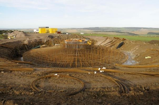 Construction Base of a Turbine